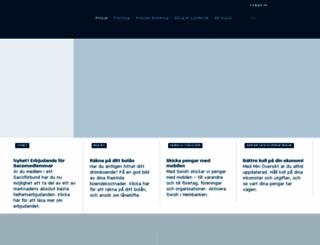 hembanken.danskebank.se screenshot