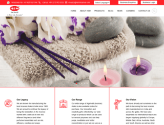 hemincense.com screenshot