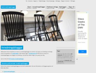 heminredningsbloggar.se screenshot