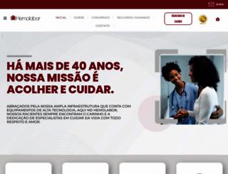 hemolabor.com.br screenshot