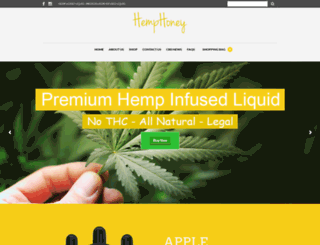 hemphoneyliquid.com screenshot