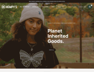 hempys.com screenshot
