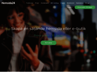 hemsida24.se screenshot