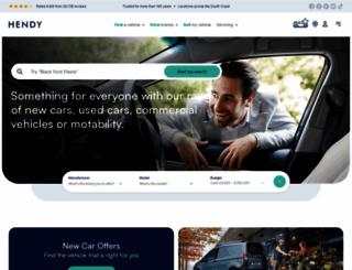 hendy.co.uk screenshot