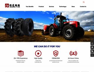 hengdatyre.com screenshot