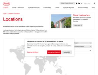 henkel.ch screenshot