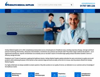 henleysmed.com screenshot