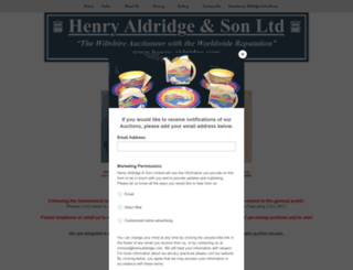 henry-aldridge.co.uk screenshot