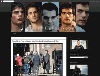 henrycavillnews.com screenshot
