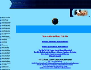 henryckliu.com screenshot