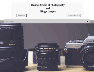 henrysstudio.com screenshot
