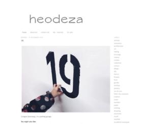 heodeza.blogspot.com screenshot