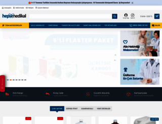 hepsimedikal.com.tr screenshot