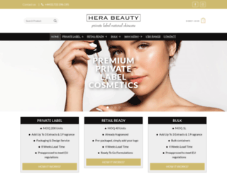 herabeautywholesale.co.uk screenshot