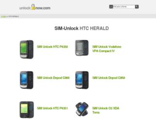 herald.unlock-now.com screenshot