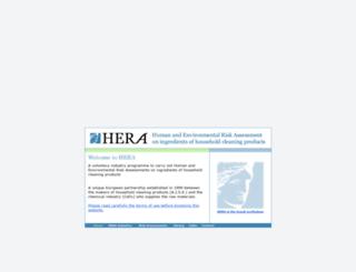 heraproject.com screenshot