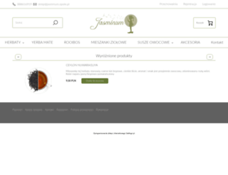 herbaciarniajasminum.pl screenshot