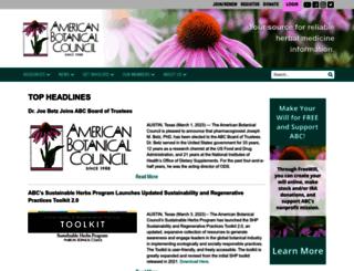 herbalgram.com screenshot