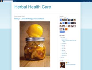 herbalhealthcare-daw.blogspot.com screenshot
