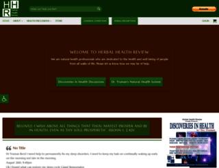 herbalhealthreview.com screenshot
