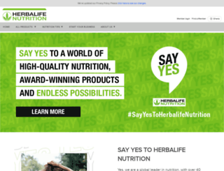 herbalifeghana.com screenshot