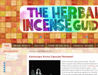 herbalincenseguide.com screenshot