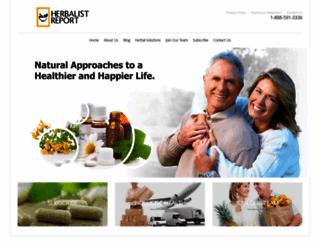 herbalistreport.com screenshot
