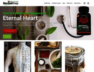herbalshop.com screenshot