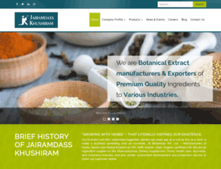 herbaltrade.com screenshot