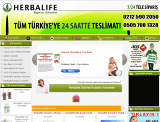 herbalurun.com screenshot