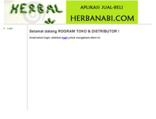 herbanabi.incloud.co.id screenshot