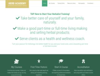 herbclass.com screenshot