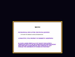 herbertarmstrong.com screenshot