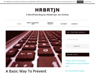 herbertvandinther.com screenshot
