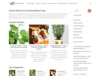 herbexpert.co.uk screenshot