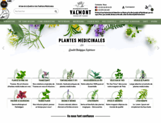 herboristerieduvalmont.com screenshot