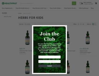 herbsforkids.com screenshot