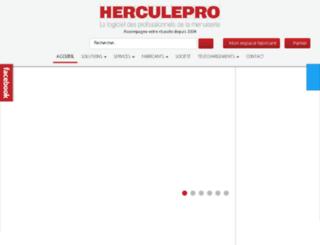 herculepro.com screenshot
