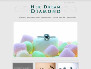 herdreamdiamond.com screenshot