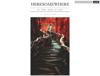 here-somewhere.tumblr.com screenshot