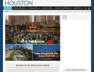hereishouston.com screenshot