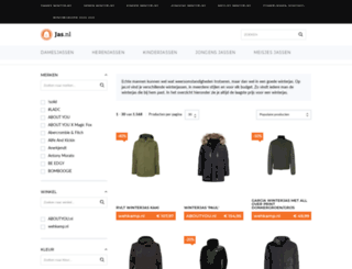 herenwinterjassen.nl screenshot