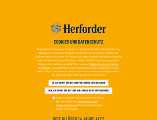 herforder-pils.de screenshot