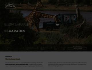 heritage-eastafrica.com screenshot