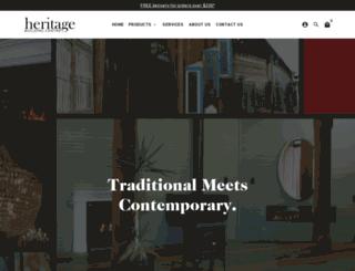 heritagebuilding.com.au screenshot