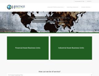 heritageglobalinc.com screenshot