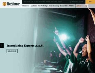 herkimer.edu screenshot
