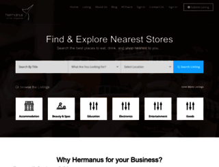 hermanusonline.co.za screenshot