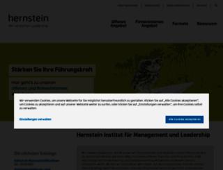hernstein.at screenshot