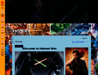 hero.wikia.com screenshot